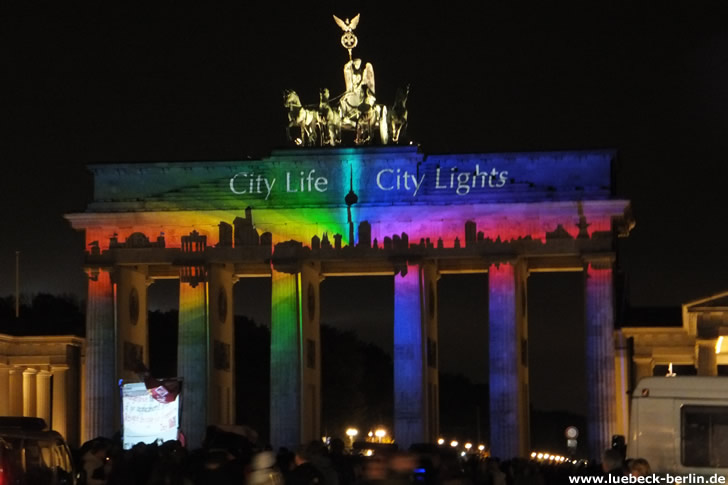 Festival of Lights, Brandenburger Tor, Berlin