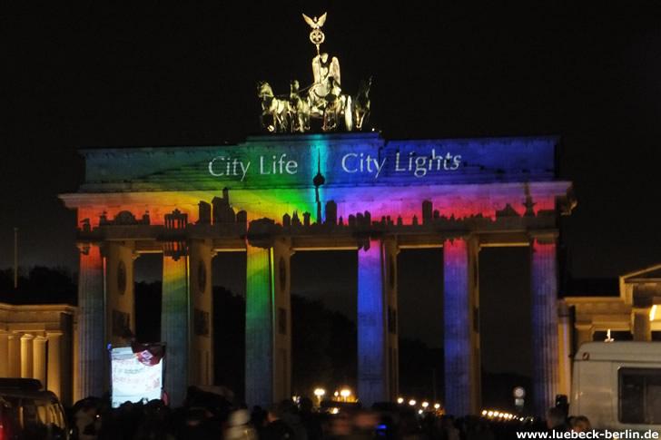 Festival of Lights, Brandenburger Tor, Berlin